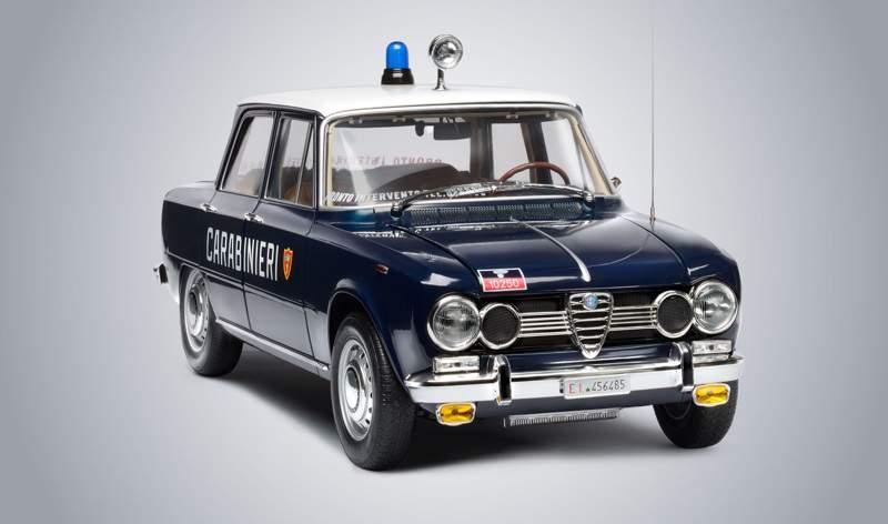 alfa giulia super, auto carabinieri, gazella carabinieri
