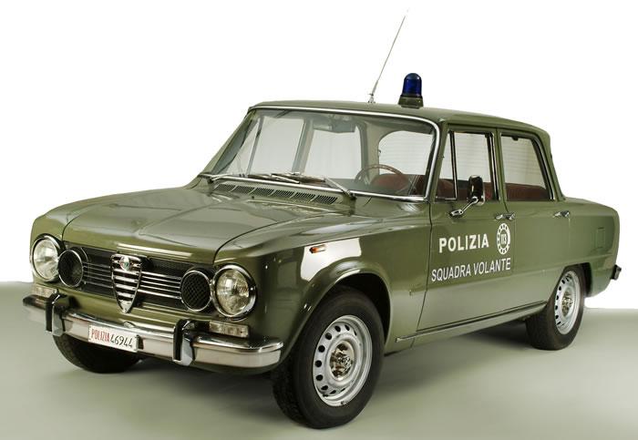 auto polizia, auto carabinieri, alfa giulia